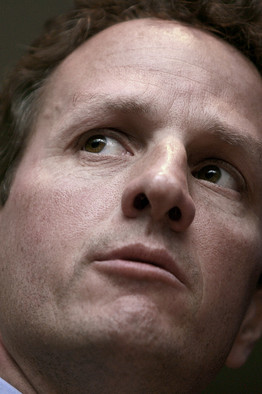 New Treasury Secretary Tim Geithner | (c) Reuters