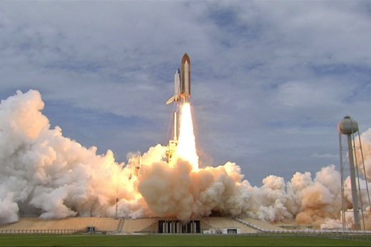 space shuttle launch ground track - photo #47