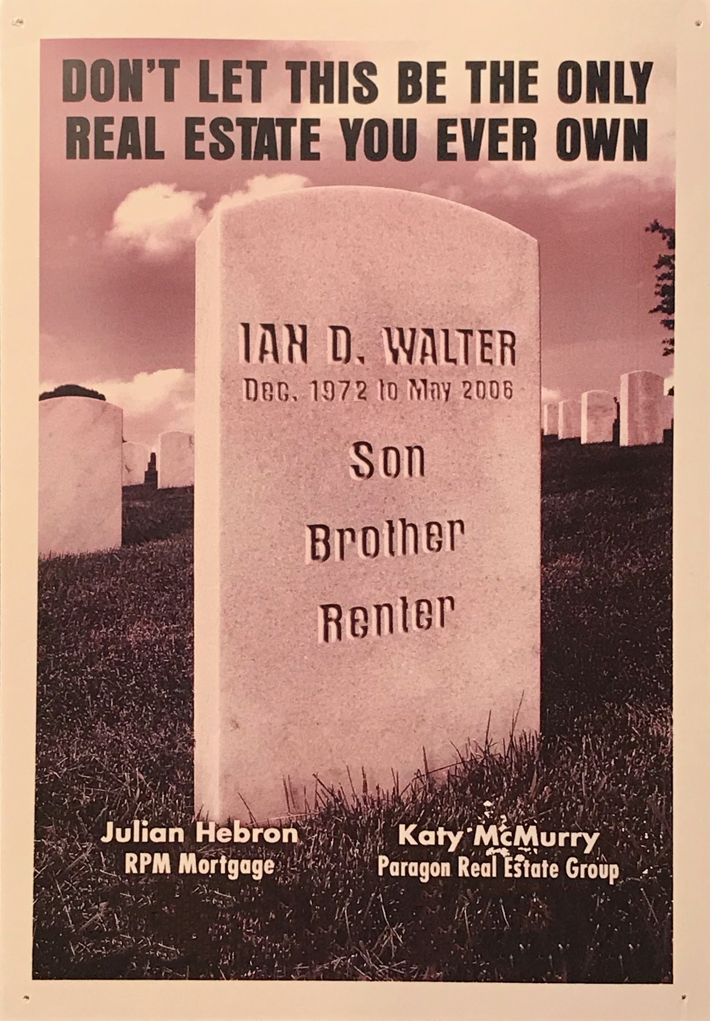 Julian Hebron The Onion Homebuyer Ad Halloween - The Basis Point