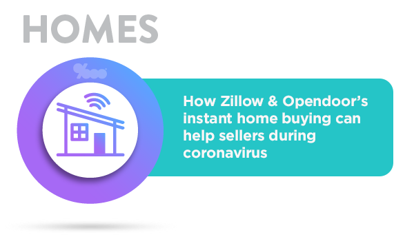 Are you a home seller worried about coronavirus infection from open houses? Then just sell your home to Zillow or Opendoor instead.
