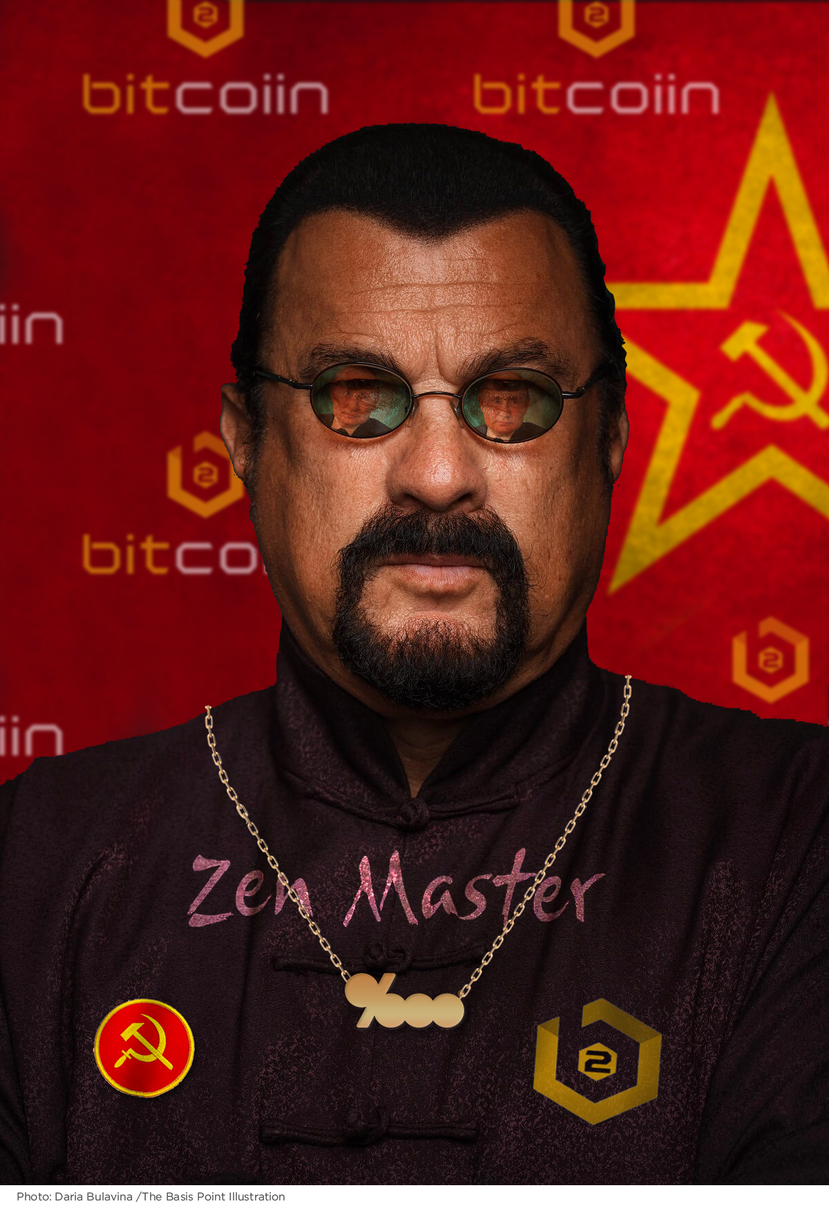 Paid Influencer Teachings From Steven Seagal Moscow S Bitcoin Zen Master The Basis Point