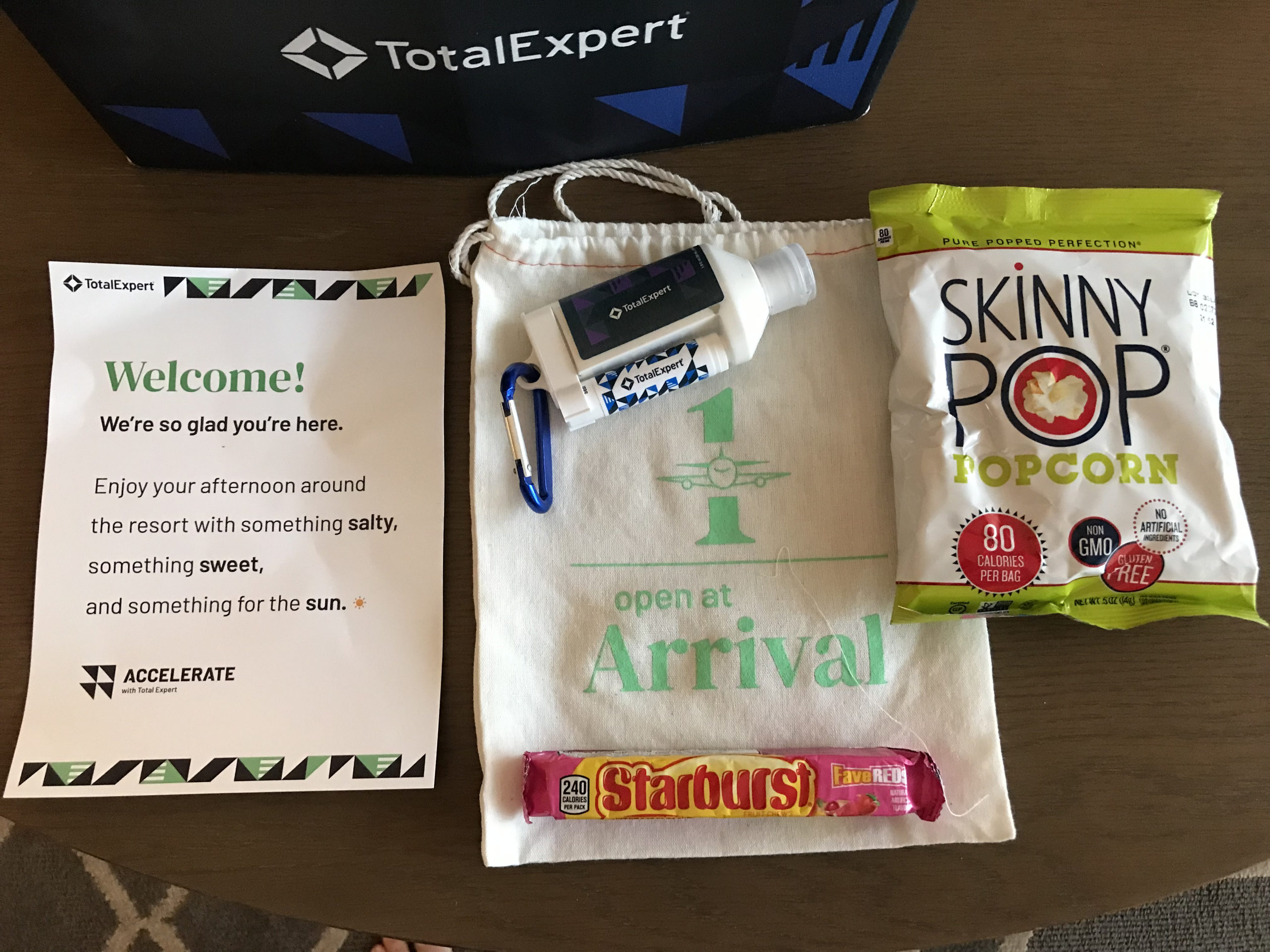 Total Expert Accelerate 2021 Conference - Journey gift box 3